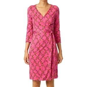 Diane Von Furstenberg New Julian 2 DVF wrap dress